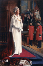 Her Majesty Queen Elizabeth II for Chelsea Hospital